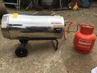 Draper space heater