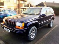 1999 Jeep Grand Cherokee 4.0 Limited in very good condition