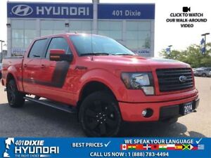 2014 Ford F-150 FX4|LEATHER|BACK-UP CAM|REMOTE START
