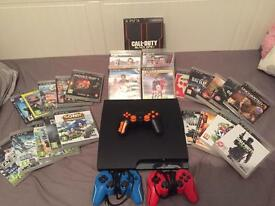 PS3 24 Games And 3 Controllers Good Condition £90 Ono