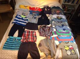 Boys bundle 12-18 months, 26 items