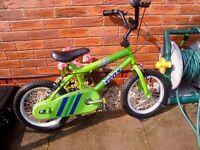Kids boys bikes BMX