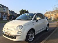 Fiat 500 Sport, FSH, Recent service and MOT, 2 lady owners