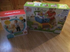 Brand new baby/toddler toys from fisher price and bright stars