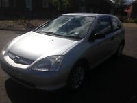 2003 HONDA CIVIC 1.4 ONLY 65,000 MILES! MOT JULY 2017! DRIVE AWAY TODAY!ONLY £995!!