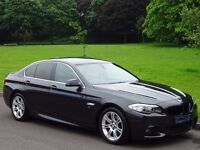 2012(62) BMW 5 SERIES 2.0 520d M Sport 4dr NAVIGATION HEATED LEATHER