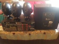 High quality sound system