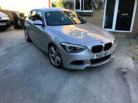 bmw 125d m sport, bi turbo 214bhp