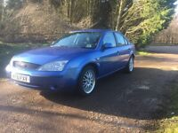 FORD MONDEO 2.0 LX AUTO VERY LOW MILES 31K WITH FULL SERVICE HISTORY AND 12 MONTHS MOT