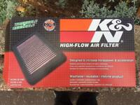 Toyota celica K&N air filter