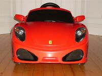 Ferrari F430 electric sit in car (very clean, for inside or outside use)