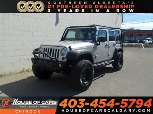2012 Jeep WRANGLER UNLIMITED Sport w/ Roll Bars, Lifted, Afterma
