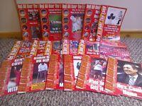 LFC Fanzines 2001-04 Red All Over The Land x 17 Can POST LFC Memorabilia