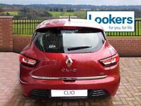 Renault Clio DYNAMIQUE S NAV DCI (red) 2016-09-29