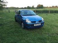 Renault Clio 1.1 12 month MOT