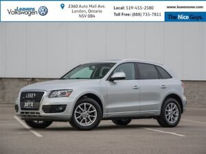 2012 Audi Q5 2.0T Premium Plus+LOW KMS+BLIND ZONE+PANOSUNROOF