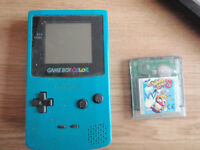 NINTENDO Gameboy Color with Wario Land 3