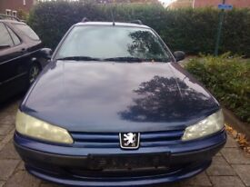 LHD LEFT HAND DRIVE PEUGEOT 406 ESTATE .1.8 PETROL .7 SEATER. AIRCON,IDEAL EXPORT.GOOD CONDITION LHD