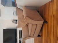Matching Sofa Lounge Chair and Armchair for sale.