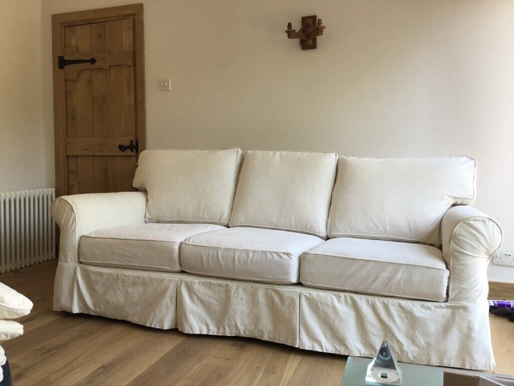 Cool Bargain Top Quality Arhaus Sofa Loose Cover 3 699 New Not Ikea Ektorp Can Deliver In Bromley London Gumtree Download Free Architecture Designs Scobabritishbridgeorg