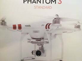 DJI Phantom 3 Standard Drone GPS 3-axis Stabilised Camera