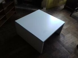 White Melanine Coffee Table
