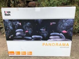 Panorama Aquarium Fish Tank 40 litre