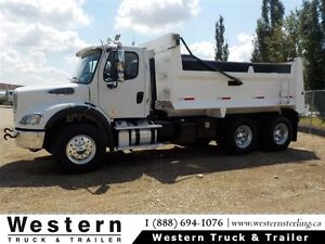 2014 Freightliner M2112 16' Commercial Gravel Box- Business Clas