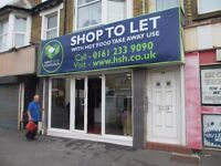 SHOP TO LET WITH PLANNING FOR HOT FOOD TAKEAWAY: BLACKPOOL: REF: G8532
