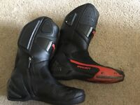 Ducati motorcycle boots only worn twice size 10.5 £40