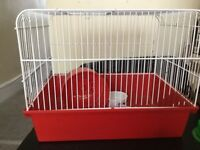 Hamster cage for dwarf hamsters or small syrians