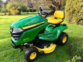 "John Deere X370 Ride On Mower - 42"" Mulch deck - Power steering & Hydraulic deck lift - Countax"
