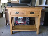 Solid wood console table/side table