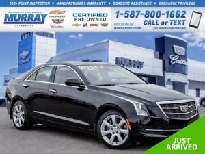 2016 Cadillac ATS 2.0L**Leather!  Bose!**