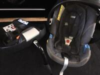 Mamas & Papas Cybex Aton Car Seat & Isofix Base 👶🏻