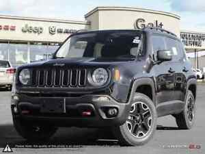 2016 Jeep Renegade TRAILHAWK 4X4 DEMO | BACK UP CAM NAV 6.5TOUCH