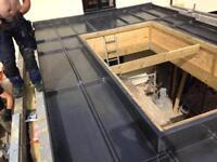 Lead roofing labourer