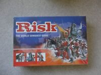 RISK: The World Conquest Game: - new in box and cellophane – never used