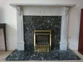 Mantlepiece and fire surround