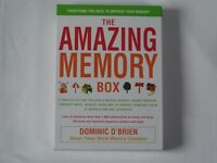 THE AMAZING MEMORY BOX. Everything you need to improve your memory.