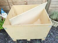 Wooden Storage Box/Crate