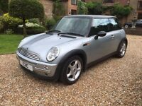 **MINI COOPER**12 MONTHS MOT**FULL LEATHER**FULL SERVICE HISTORY**IMMACULATE** PANORAMIC ROOF**