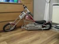 Razor electric motorbike