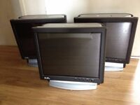 Job Lot of 3 PC RM Ecoquiet 965 All-In-One Intel C2D T5800 2GHz + 2GB Ram + 17in