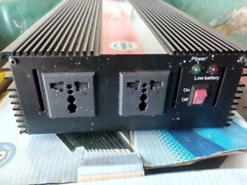 Inverter 12volt to 240v 2000watt output.