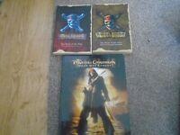 3 x Pirates of Caribbean books
