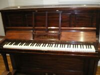 Challen Upright Piano.