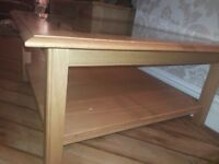 Large wooden marks and spencer coffee table