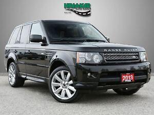 2013 Land Rover Range Rover Sport HSE  V8 LUXURY