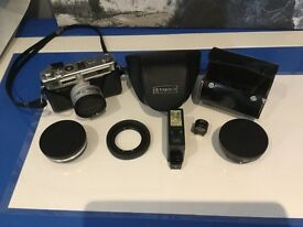 Yashica Electro 35mm Camera & Accessories